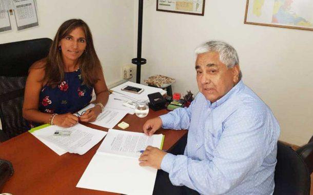Salazar acordó el traspaso de la policía distrital a la comunal