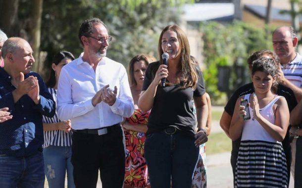 Vidal terminó su segunda recorrida por los 135 municipios bonaerenses