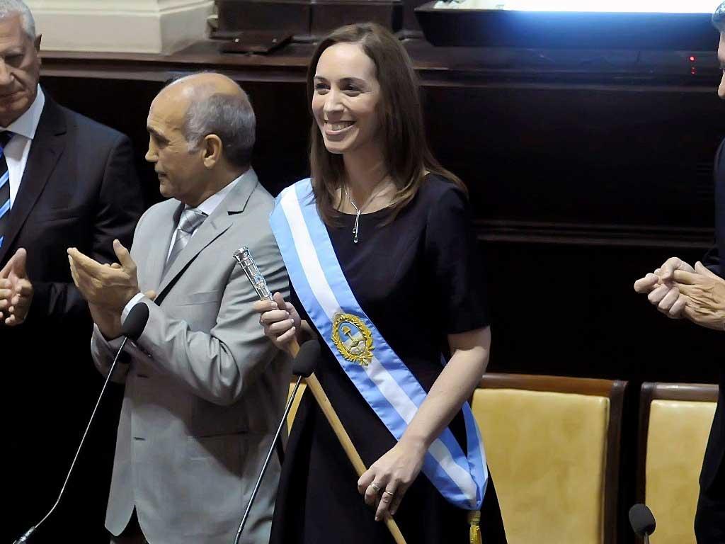 """Vidal: """"Si la gente me elige, voy a ser gobernadora otro período"""""""