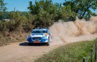 Rally Mar y Sierras: Robustelli se quedó con la primera etapa del año