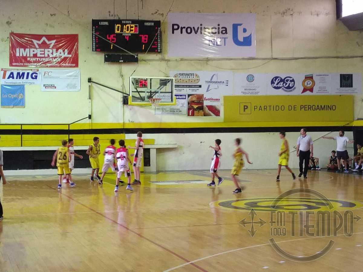 Inferiores de básquet: Sportivo recibe a Sport