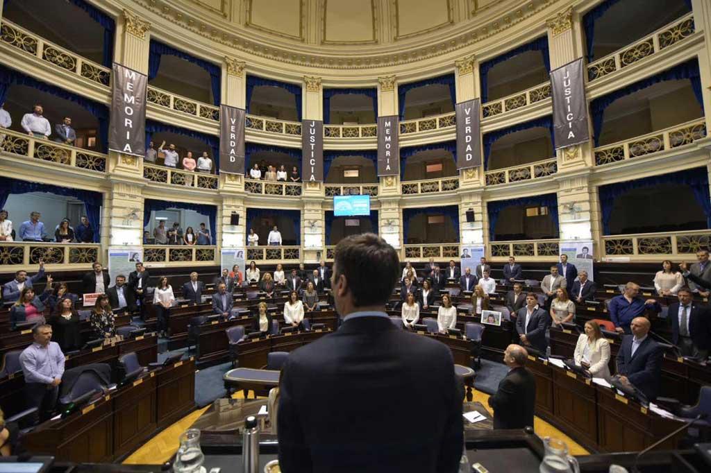 Diputados conmemoró el día nacional de la memoria por la verdad y la justicia