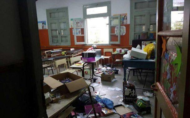 Más de 110 escuelas fueron vandalizadas en el último trimestre