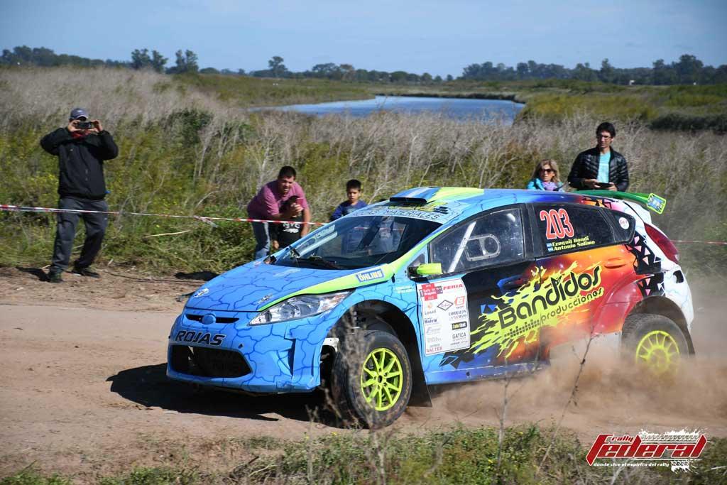 Rally Federal: Bandí ganó la clase Jr. en Lobos