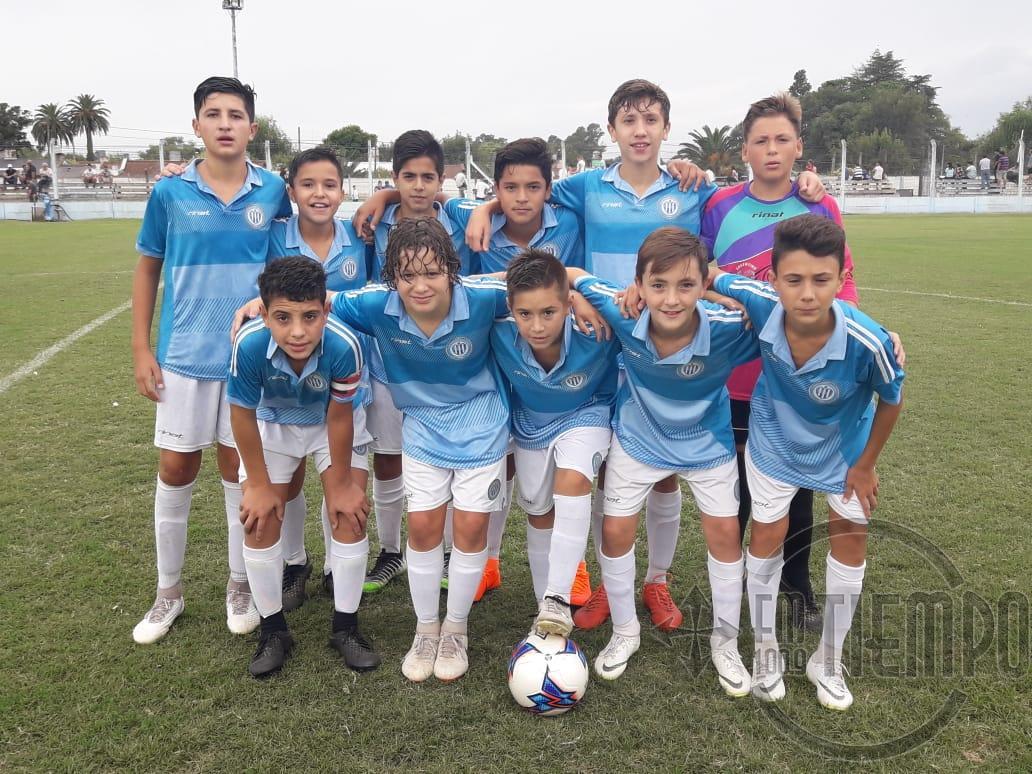 Inferiores y escuelita de fútbol: programa de partidos