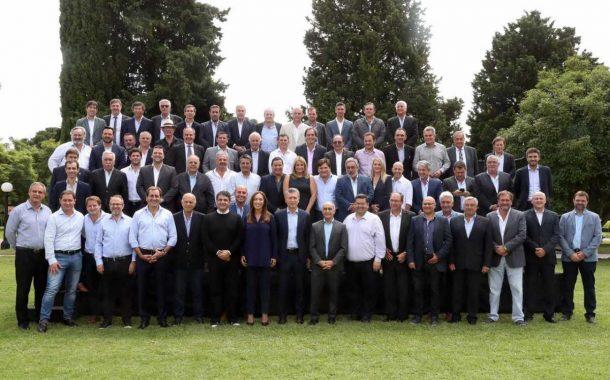 Rossi participó de la reunión de Vidal y Macri con Intendente bonaerenses de Cambiemos