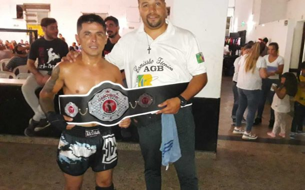 kick boxing: Nicolas Páez se consagró campeón de la Liga del Noroeste