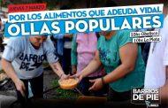 Reclamo a Vidal: Barrios de pie organiza ollas populares
