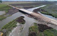 """""""La habilitación del puente sobre el arroyo Saladillo de la Vuelta es inminente"""