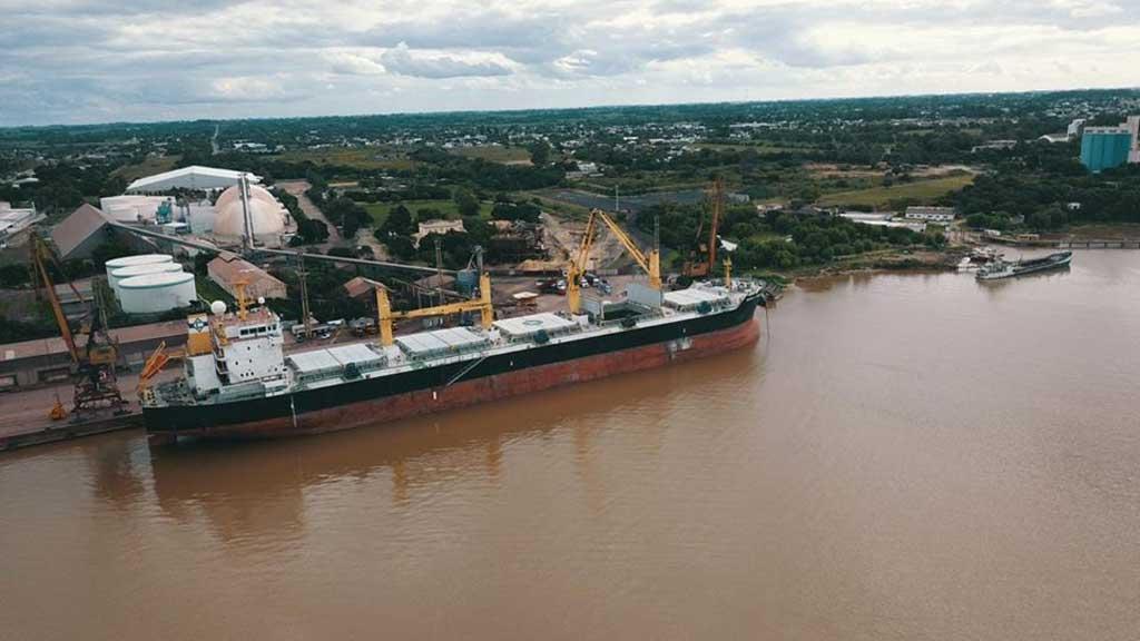 El Gobierno creó un consorcio para gestionar el Puerto de San Nicolás