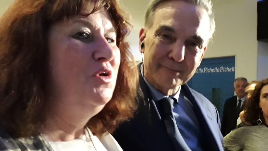 Susana Caldani participó del lanzamiento de campaña presidencial de Miguel Pichetto