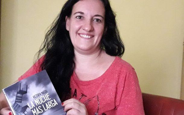 Victoria Nasisi presenta su tercer libro