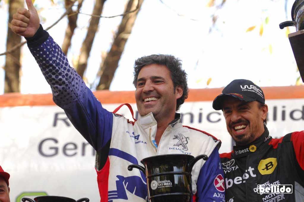 Rally Mar y Sierras: Robustelli logró el ansiado primer triunfo en la Maxi