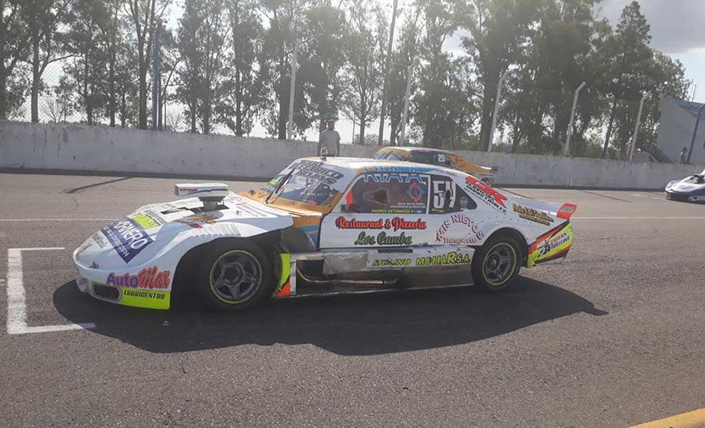 Autos: Buen debut de Andres Detomassi en las Agrupadas Federadas