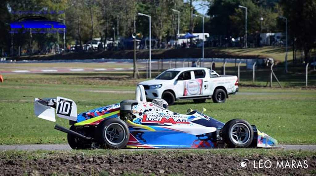 Autos: Franco Lucero logró una nueva victoria en Arrecifes