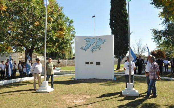 Se realizó homenaje a ex combatientes de Malvinas