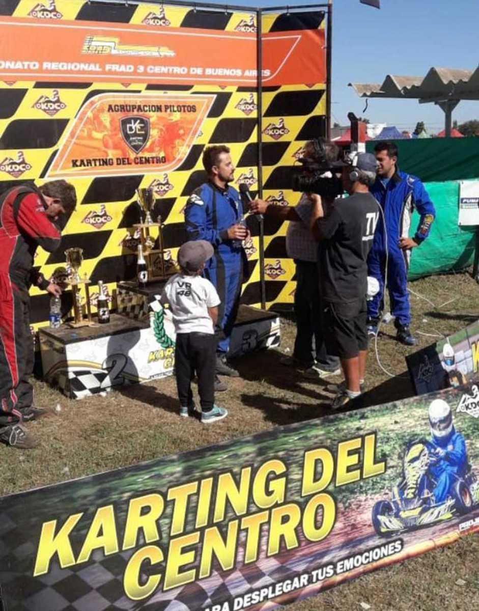 Karting: Juan Cruz Terré ganó en Salto