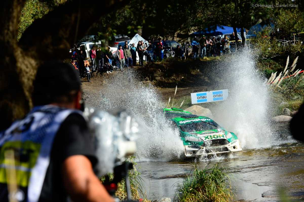 Padilla se quedó con la tercera fecha del Rally Argentino;