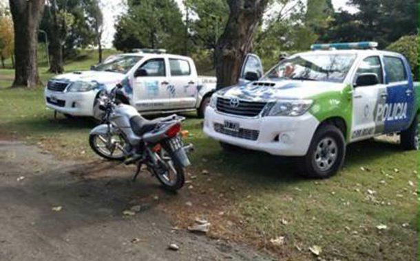 Secuestran 10 motos en distintos operativos de control