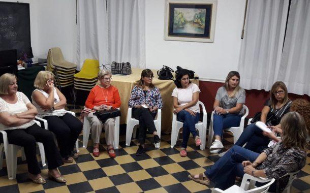 Ex Concejales se reunieron en el Centro Cultural