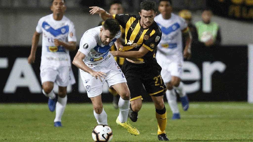San José le ganó 3-1 a Peñarol, por Copa Libertadores, con gol de Sanguinetti