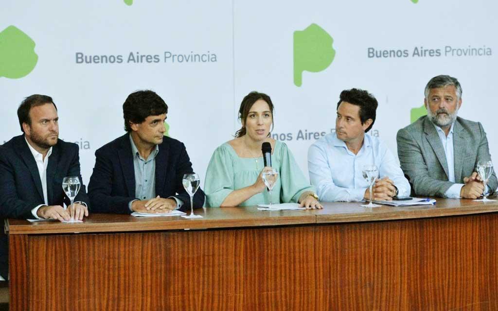 Tras la suba del dólar, Vidal analiza nuevas medidas anticrisis para la Provincia