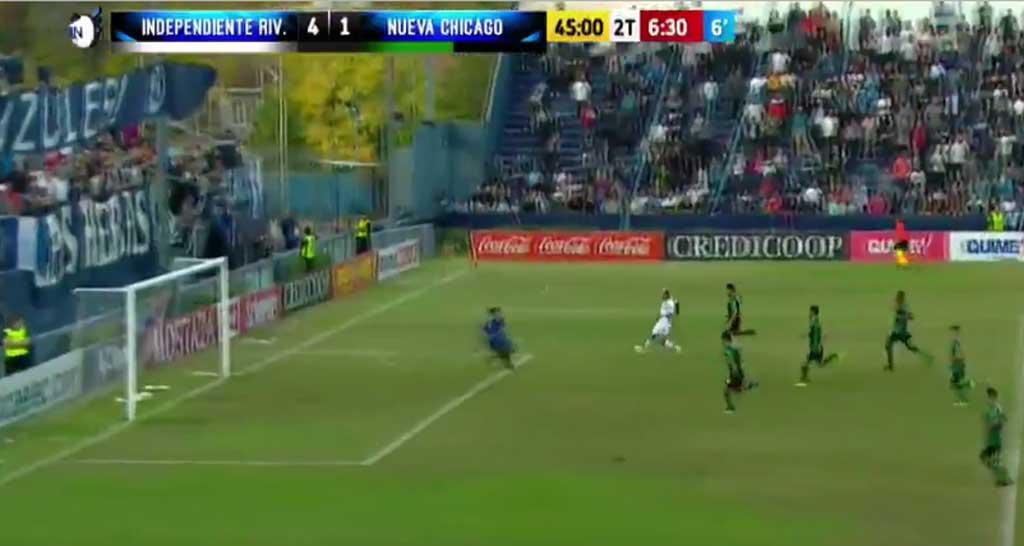 Independiente Rivadavia goleó a Chicago con un doblete de Tissera