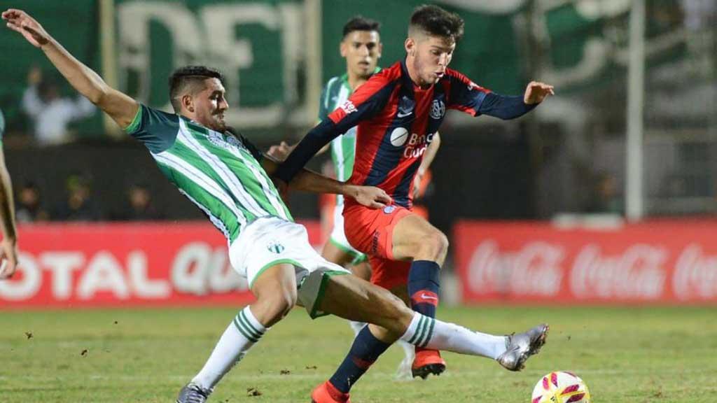 Martegani debutó en la primera de San Lorenzo