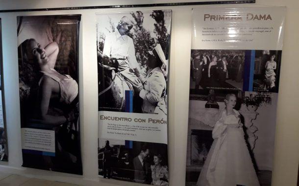 Quedó inaugurada la muestra sobre Eva Perón en el Centro Cultural