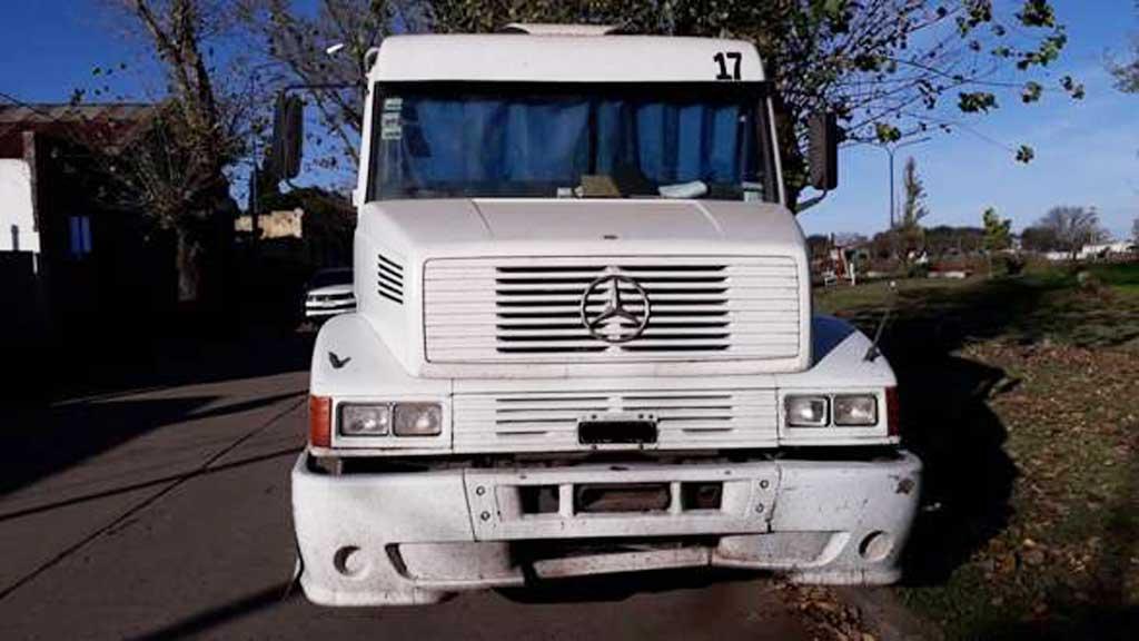 Aprehensión y secuestro de camión con pedido activo por robo