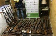 Allanan la casa de un comerciante en Chivilcoy y encuentran un arsenal