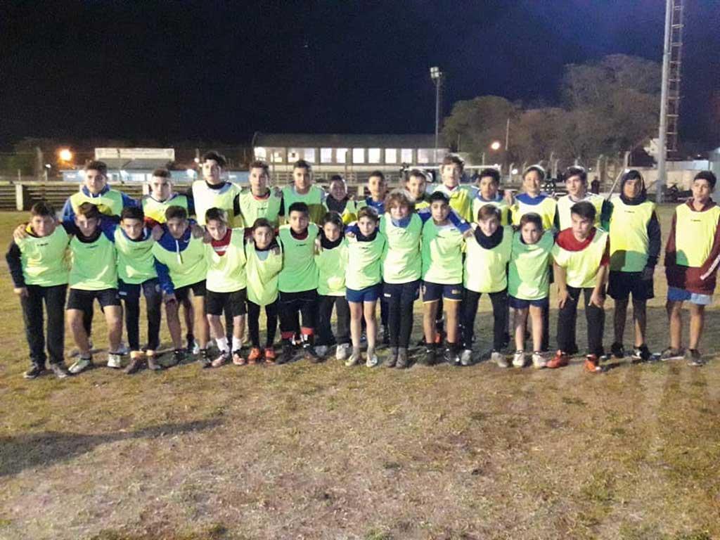 La Selección Sub 13 de fútbol se prepara para participar del torneo del Consejo Federal