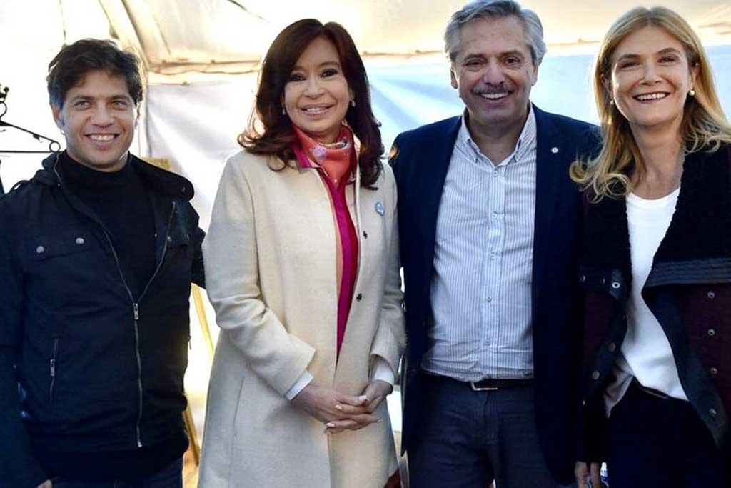Kicillof y Magario: candidatos de Unidad Ciudadana para competir por la Gobernación bonaerense