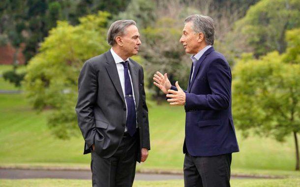 Macri y Pichetto, la fórmula del oficialismo, ya tiene su primera foto