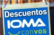 Anuncian descuentos en comercios para afiliados a IOMA