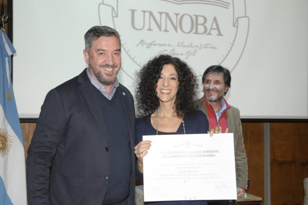 Leila Guerriero dictó una conferencia en la UNNOBA
