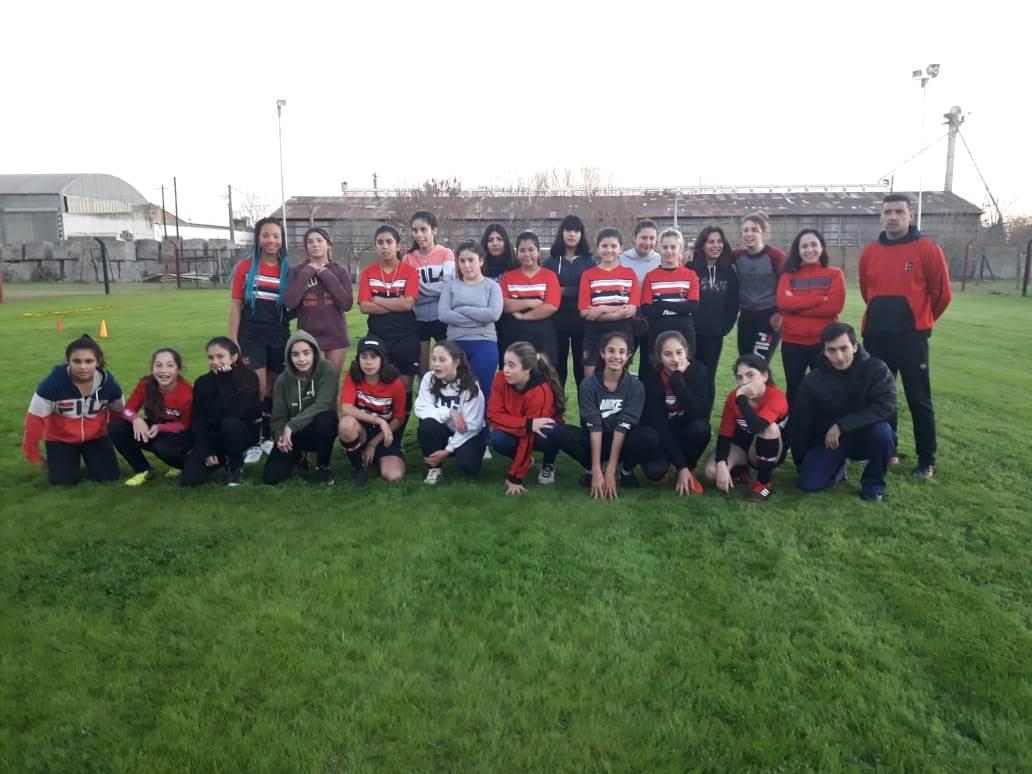 Jorge Newbery dio inicio a las actividades de fútbol femenino