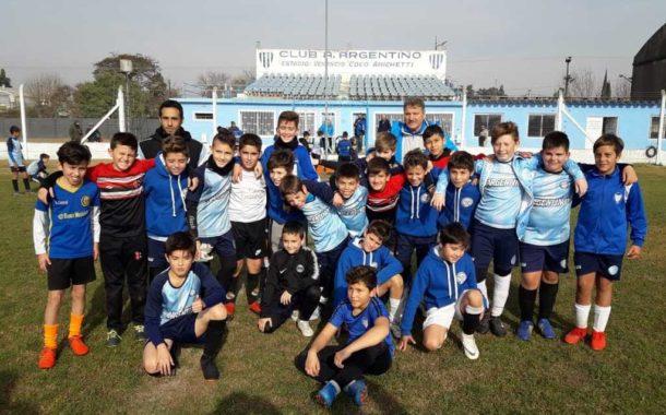 Boca Jrs. realiza prueba de jugadores en Rojas
