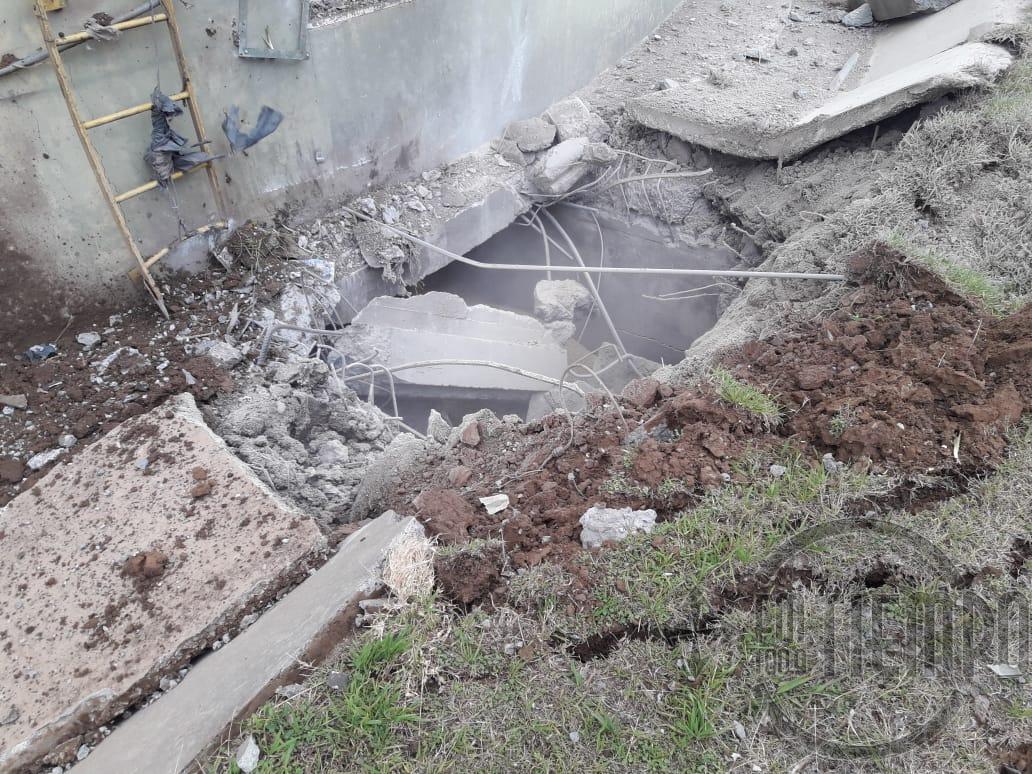 Los Bomberos Voluntarios brindaron detalles sobre los trabajos realizados en la explosión de AFA