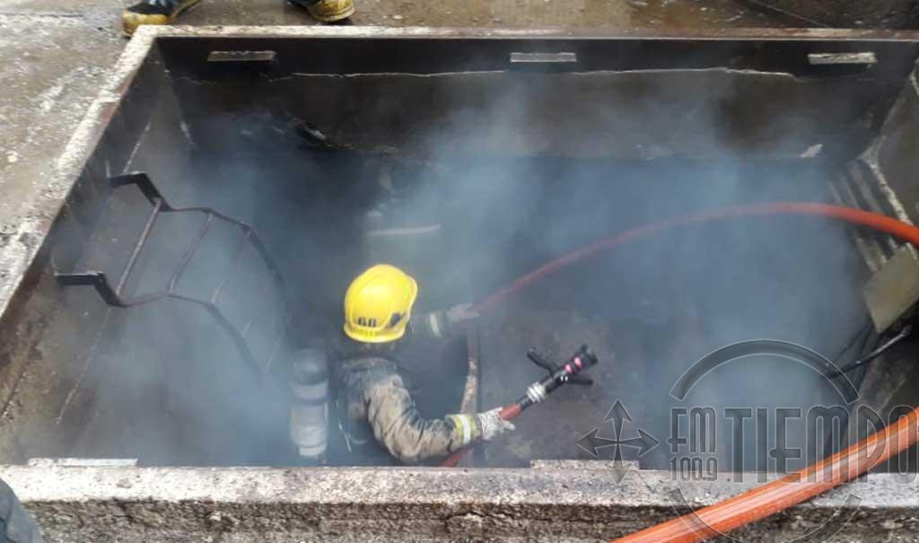 Imágenes de la explosión en AFA