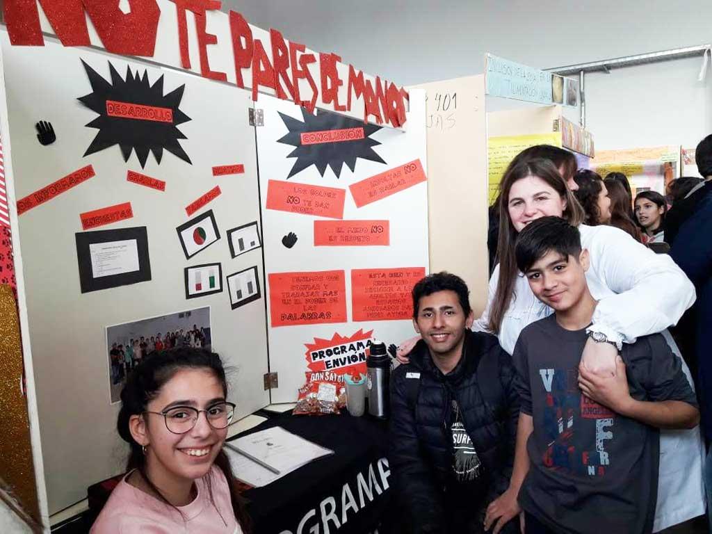 Feria de Ciencias, Arte y Tecnología Distrital en la Escuela Técnica Nº1