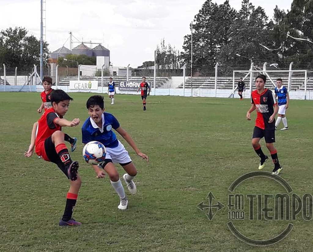 Fútbol: programa de partidos para escuelitas e inferiores
