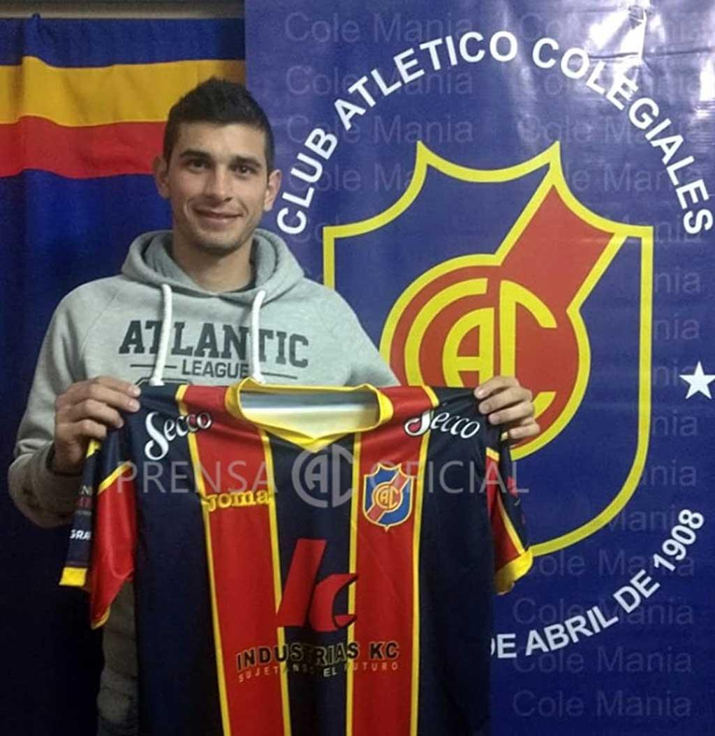 Nahuel Quiroga jugará en Colegiales