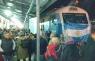 Bragado: una multitud celebró el regreso del tren de pasajeros