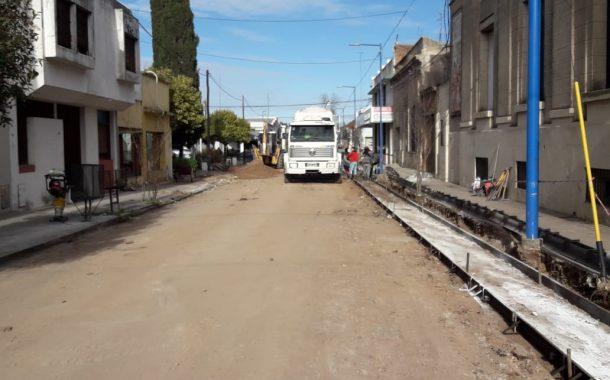 Boyeras brindó detalles sobre la repavimentación de más calles en la ciudad