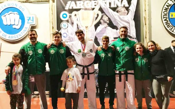 Taekwon-Do: destacada labor rojense en la