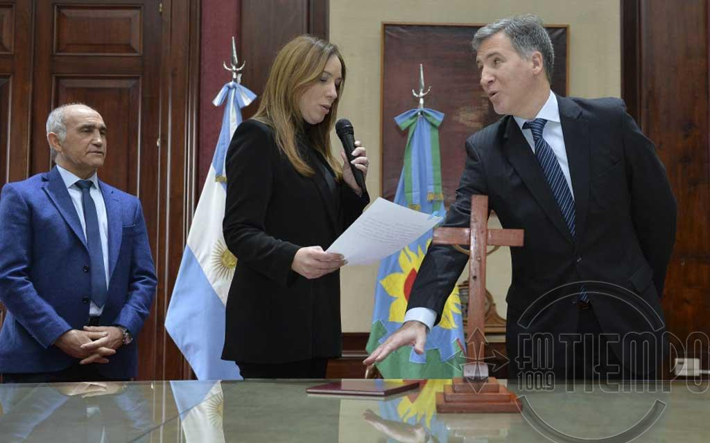 Damián Bonari asumió como ministro de Economía bonaerense