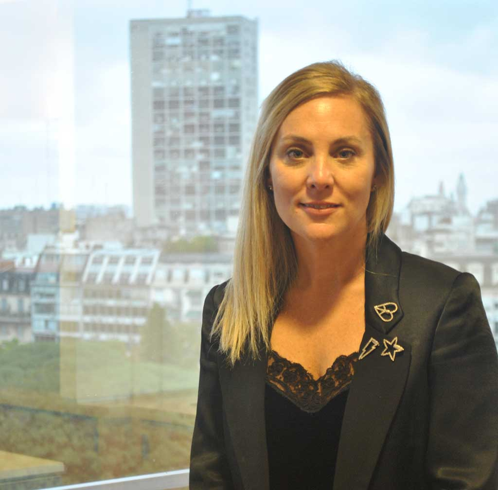 Virginia Gilligan es Directora de Comunicaciones de Bayer para la región Cono Sur