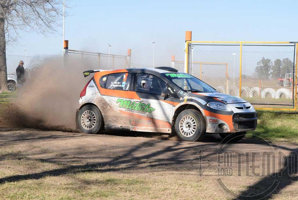 Espectacular cierre tuvo el Rally Santafesino en San José de la Esquina