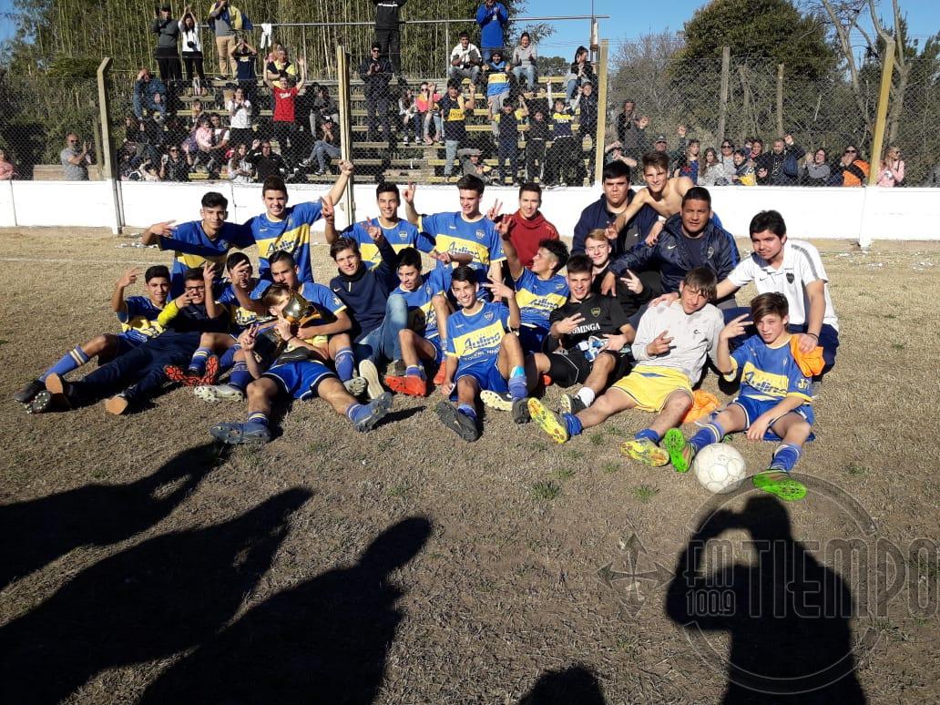 Fútbol: Boca Jrs. se consagró campeón en la sub 17